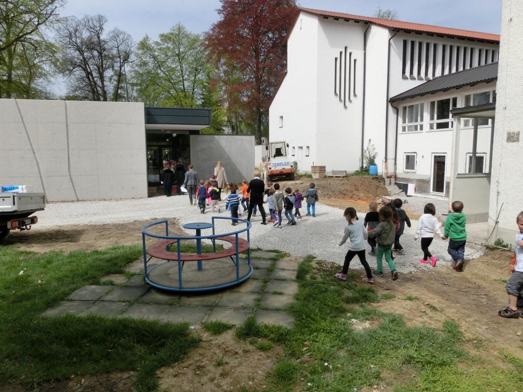 Übergang zum neuen Kindergarten