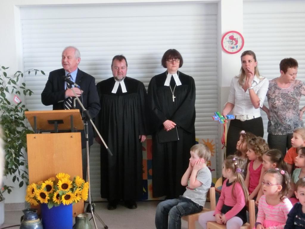 Grußworte von Hrn. Bürgermeister Mißlbeck